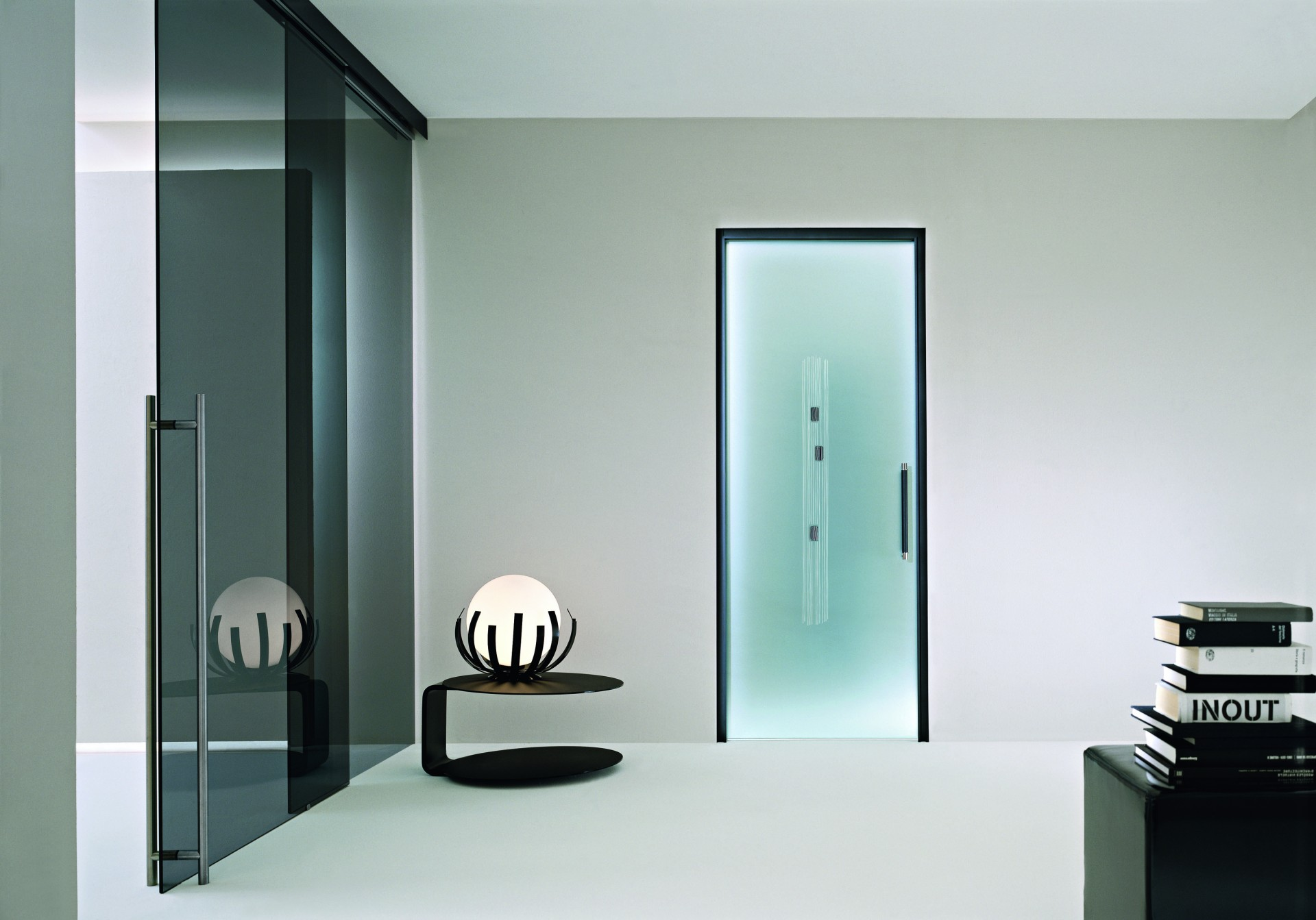 Porte In Alluminio Anodizzato in vetro | rr serramenti rovigo, infissi e porte alluminio