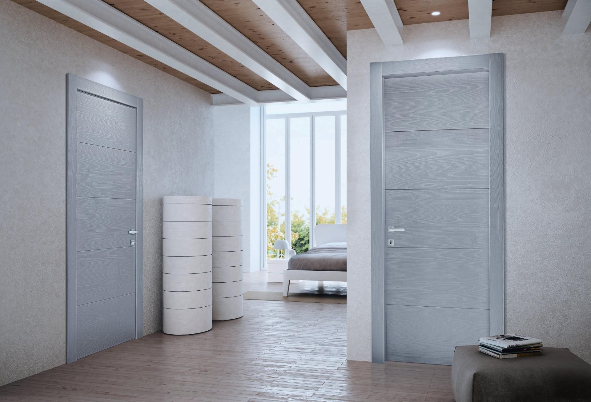 In legno rr serramenti rovigo infissi e porte alluminio legno pvc - Porte interne rovere grigio ...
