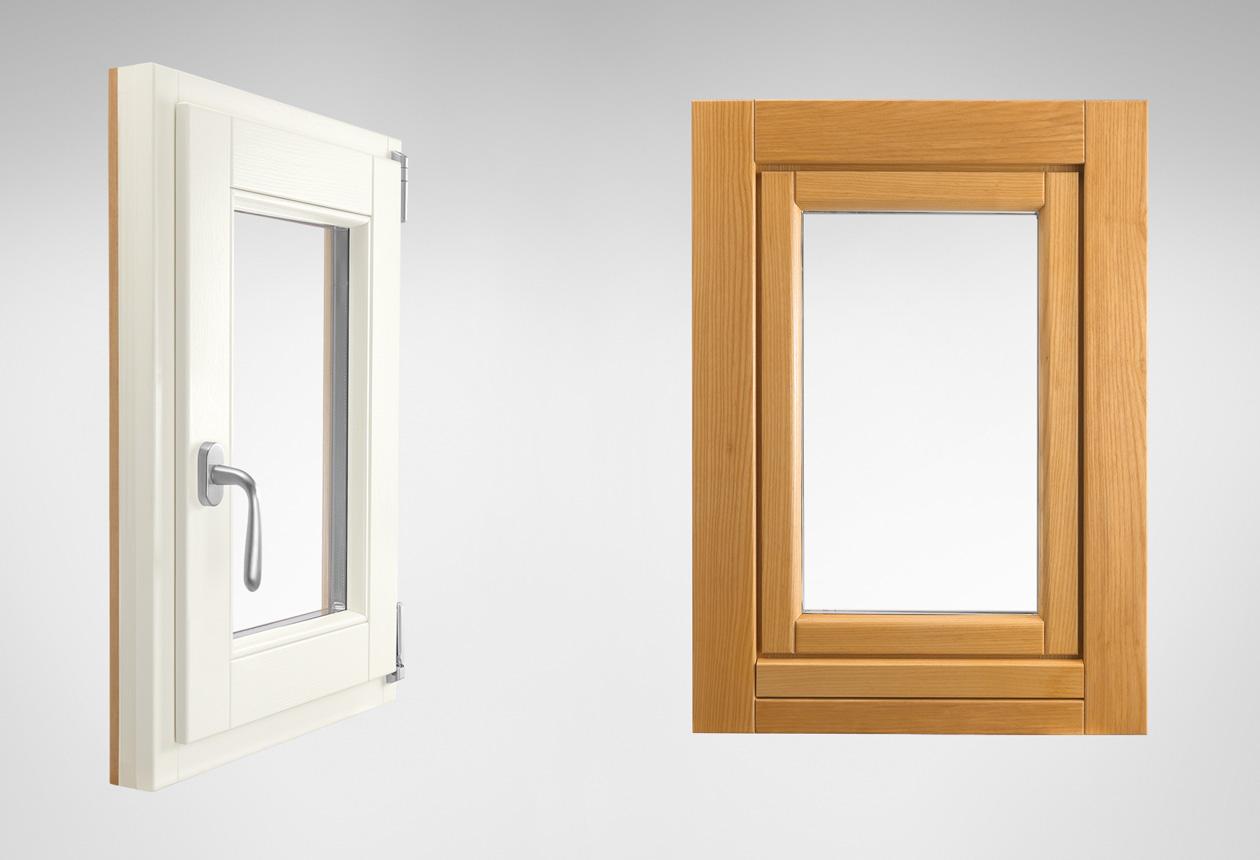 In legno rr serramenti rovigo infissi e porte alluminio for Infissi in legno bianco