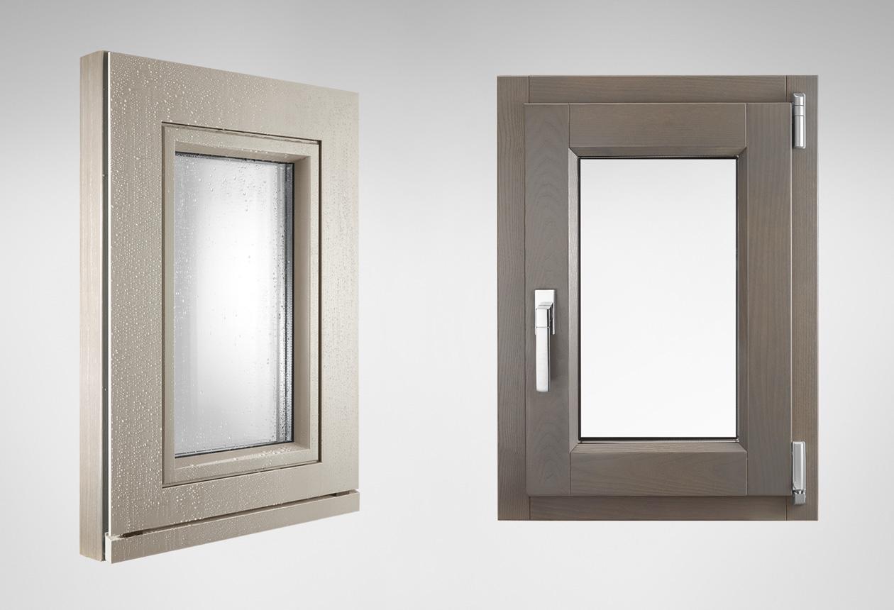 In legno rr serramenti rovigo infissi e porte alluminio - Finestre in legno gia pronte ...