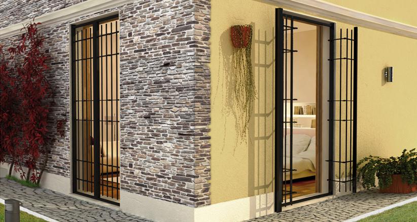 Grate rr serramenti rovigo infissi e porte alluminio - Grate di sicurezza per finestre ...